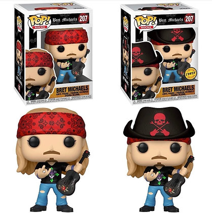Funko Pop! Bret Michaels: Chase/Bundle