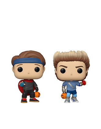 Funko Pop! WandaVision: Bill and Tommy (Halloween) 2 Pack Shared Sticker Exc.