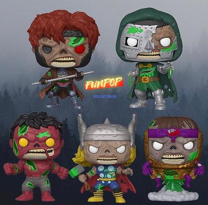 Funko Pop! Marvel Zombies: Bundle Set of 5
