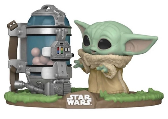 Funko Pop! Star Wars The Mandalorian: Child with Egg Canister