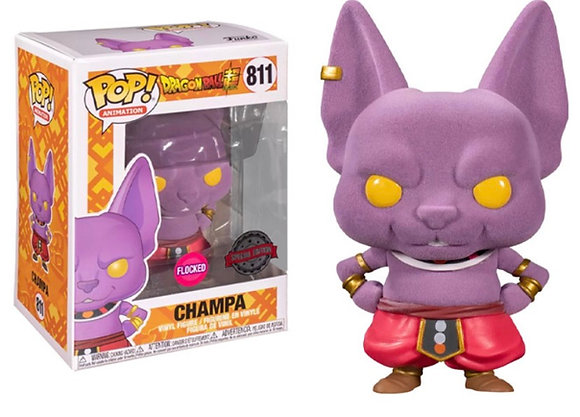 Funko Pop! Dragon Ball Z: Champa Flocked #811 Hot Topic Exclusives