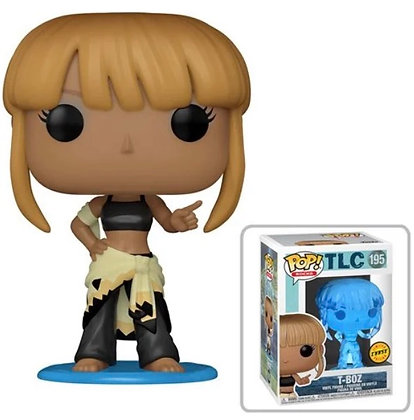 Funko Pop! TLC: T-Boz Common and Chase Bundle