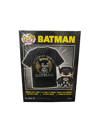 Batman Exclusive Limited Edition POP! and Tee