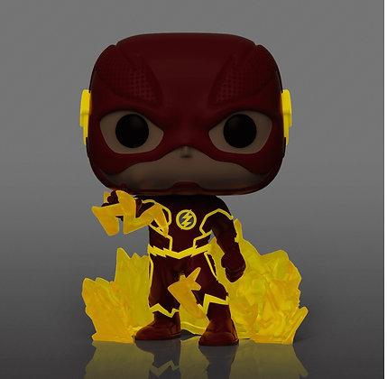 Funko Pop! DC The Flash: The Flash GITD Funko Exclusive Sticker