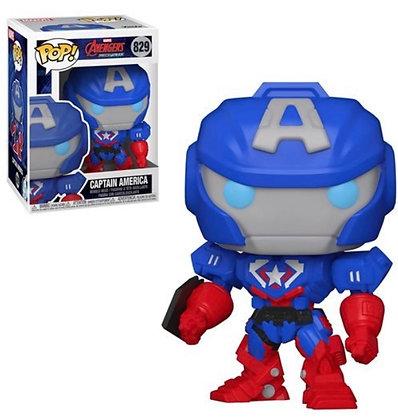 Funko Pop! Marvel Mech: Captain America