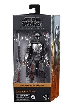 Hasbro! Star Wars The Black Series: The Mandalorian (Beskar) 6-Inch Figure