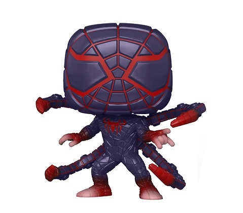 Funko Pop! Marvel Spider-Man Miles Morales: Game Programmable Suit