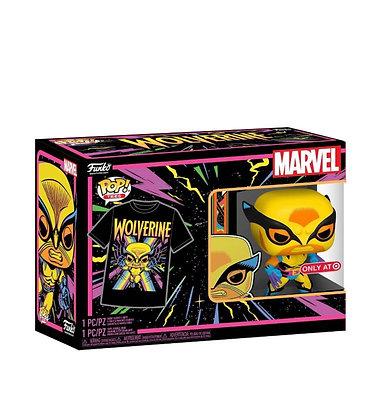 Funko Pop! Marvel Blacklight: Wolverine #802 XXL POP and TEE Target Sticker