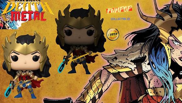 Funko Pop! DC: Death Metal Wonder Woman CHASE/COMMON Bundle