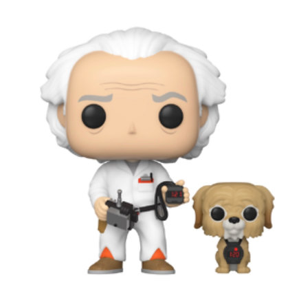 Funko Pop: Back to The Future: Doc with Einstein #972