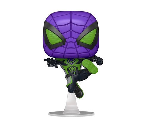 Funko Pop! Marvel Spider-Man Miles Morales: Game Metallic Pop