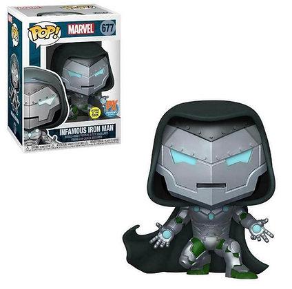 Funko Pop! Marvel! Infamous Iron Man GITD PX Exclusive