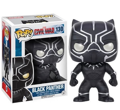 Funko Pop! Marvel Civil War: Black Panther