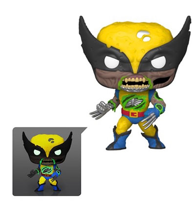Funko Pop! Marvel Zombies: Wolverine Glow In The Dark EE Exclusive