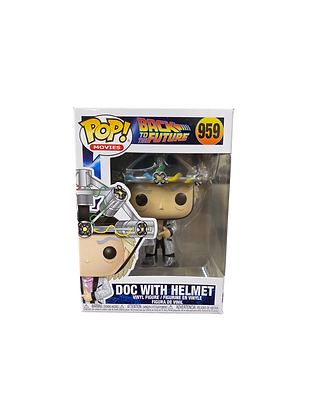 Funko Pop! Back To The Future: Doc with Helmet