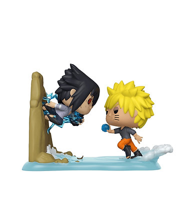 Funko Pop! Naruto: Sasuke VS Naruto(Anime Moment) Exclusive