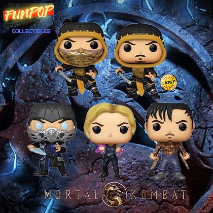 Funko Pop! Mortal Kombat: Bundle of 5 GUARANTEED CHASE