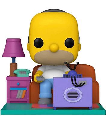 Funko Pop! The Simpsons: Homer watch TV Deluxe Pop