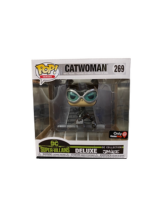 Catwoman Deluxe Game Stop Exclusive