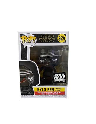 Kylo Ren Supreme Leader Star Wars Exclusive