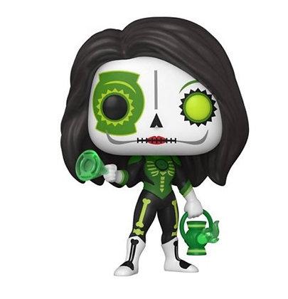PREORDER Funko Pop! DC Dia De Los Muertos: Green Lantern Jessica Cruz