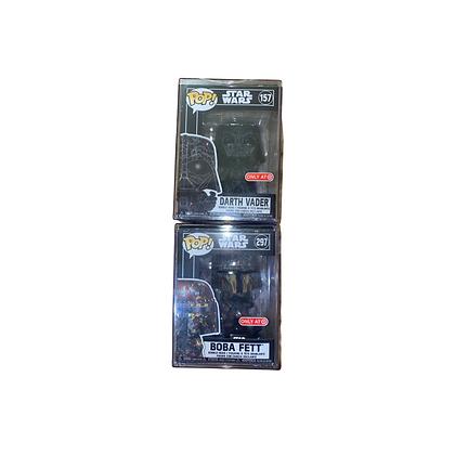 Star Wars: Futura Bobba Fett and Darth Vader