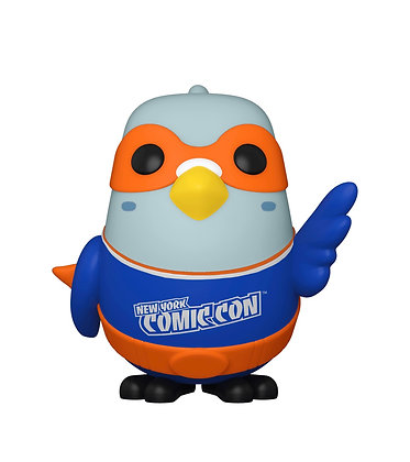 Funko Pop! Paulie Pigeon #23 2020 NYCC Shared Sticker