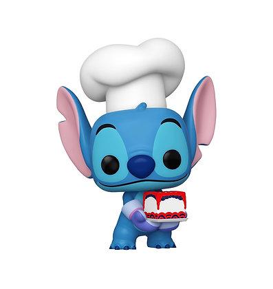 Funko Pop! Disney Lilo & Stitch: Stitch as Baker NYCC Shared Sticker