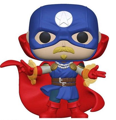 Funko Pop! Marvel Infinity Warps: Soldier Supreme
