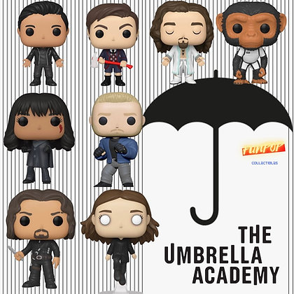 Funko Pop! Umbrella Academy: Bundle of 8