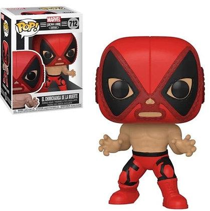 Funko Pop! Marvel Luchadores: El Chimichanga De La Muerte (Deadpool)