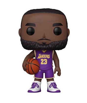 "Funko Pop! NBA; LA Lakers LeBron James 10"""