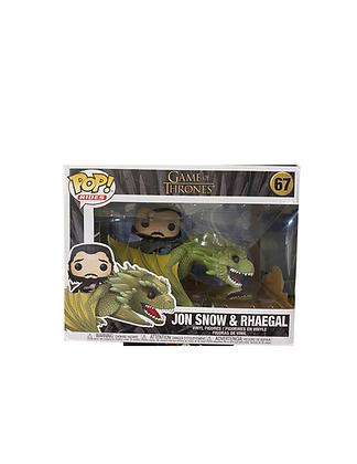GOT: Jon Snow & Rhaegal