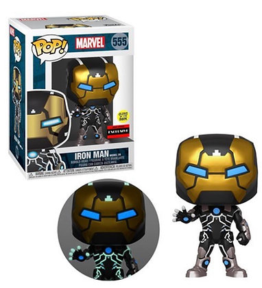 Funko Pop! Marvel: Iron Man 39 Glow-In-The-Dark