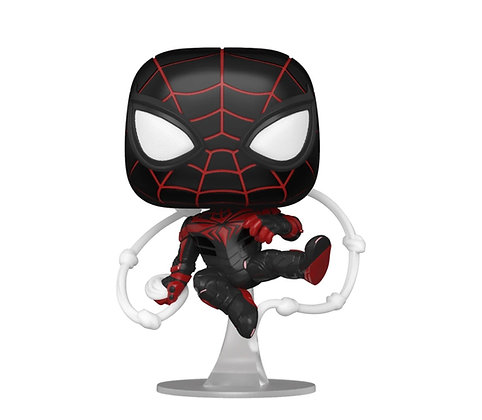 Funko Pop! Marvel Spider-Man Miles Morales: Game Advance Tech Suit