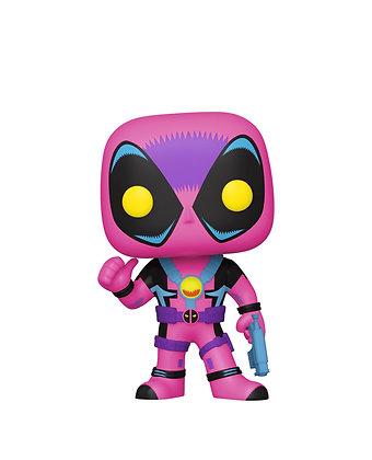 Funko Pop! Marvel Blacklight: Deadpool #801 Target Exclusive Sticker