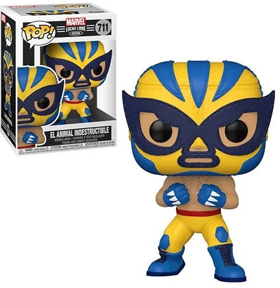 Funko Pop! Marvel Luchadores: El Animal Indestructible (Wolverine)