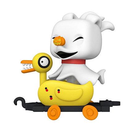 Funko Pop! Nightmare Before Christmas Train: Zero in Duck Cart