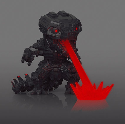 Funko Pop! Godzilla vs Kong: Mechagodzilla GITD Funko Exclusive Sticker