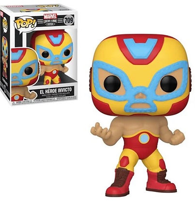 Funko Pop! Marvel Luchadores: El Heroe (Iron Man)