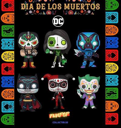 PREORDER Funko Pop! DC Dia De Los Muertos: Bundle of 6