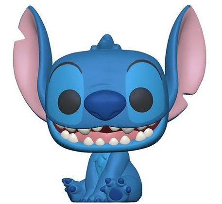 "Funko Pop! Lilo & Stitch: Seated Stitch 10"" Pop"