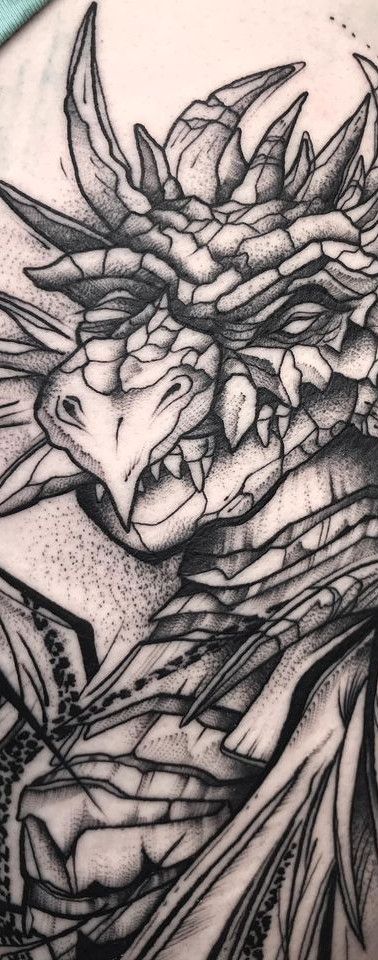 Dragon Sleeve III