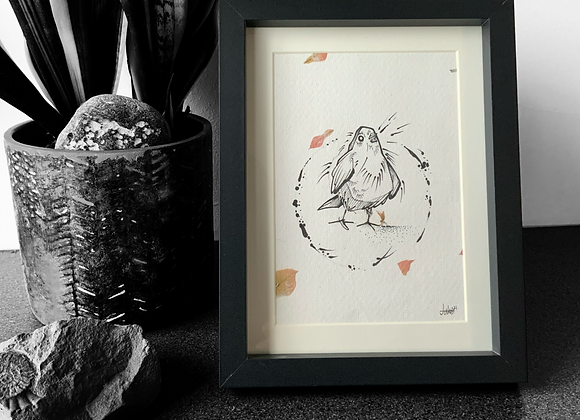 Pigeon Sketch II (2021)