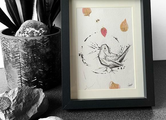 Pigeon Sketch I (2021)