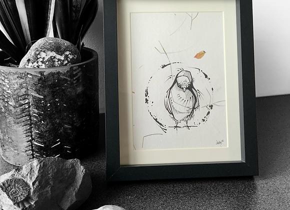Pigeon Sketch III (2021)