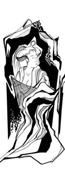 Ukiyoe Geisha II