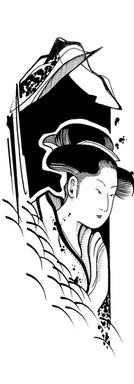 Ukiyoe Geisha III