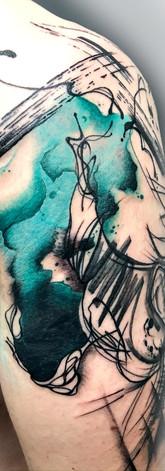 Girl Watercolour Sleeve IV