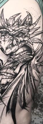 Dragon Sleeve II